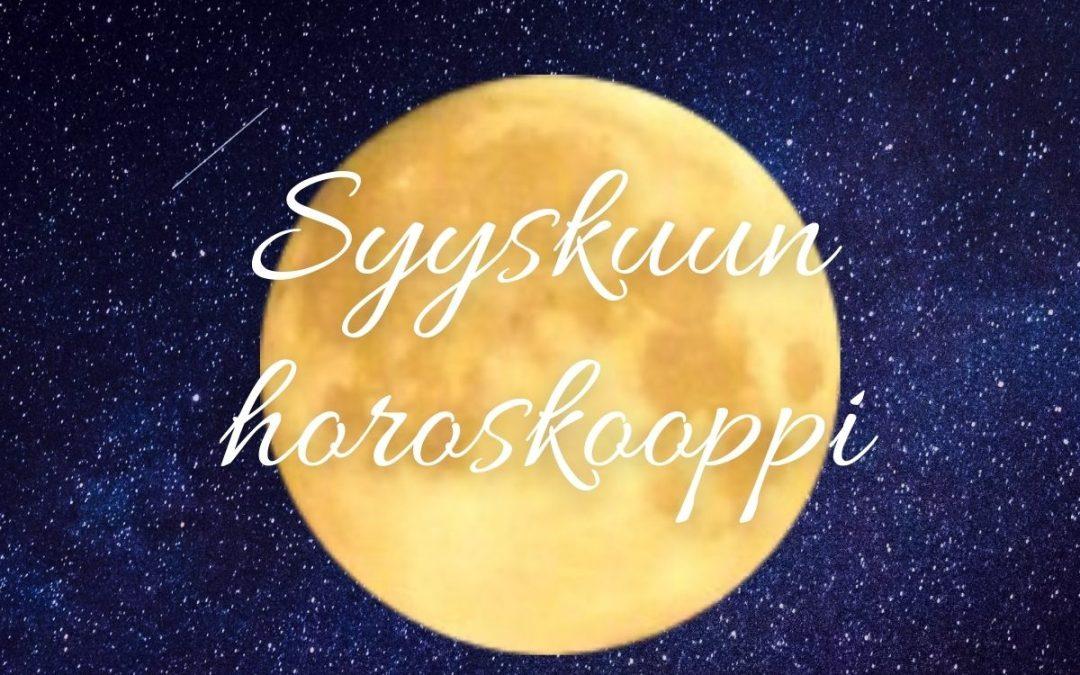 SYYSKUUN HOROSKOOPPI