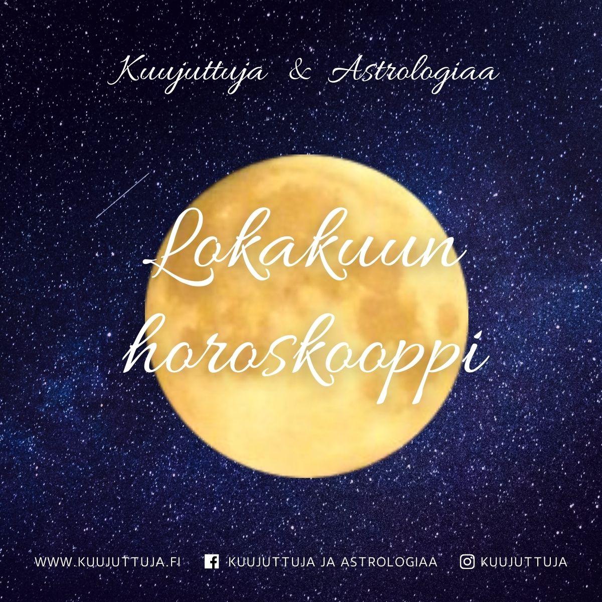 Horoskooppi Lokakuu