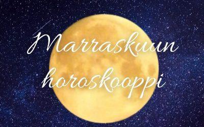 MARRASKUUN HOROSKOOPPI, SUNNUNTAI 1.11.20