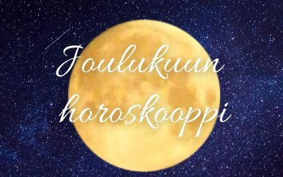 JOULUKUUN HOROSKOOPPI 1.12.20
