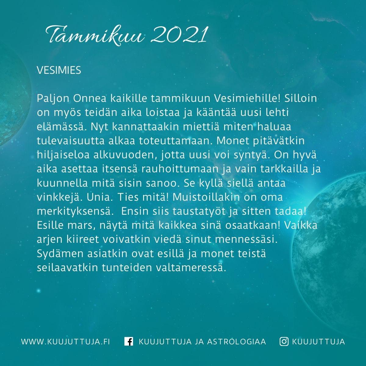 Täysikuu Tammikuu 2021